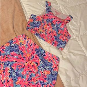 Lilly Pulitzer two piece set